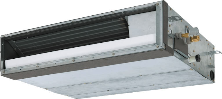 Slim duct unit